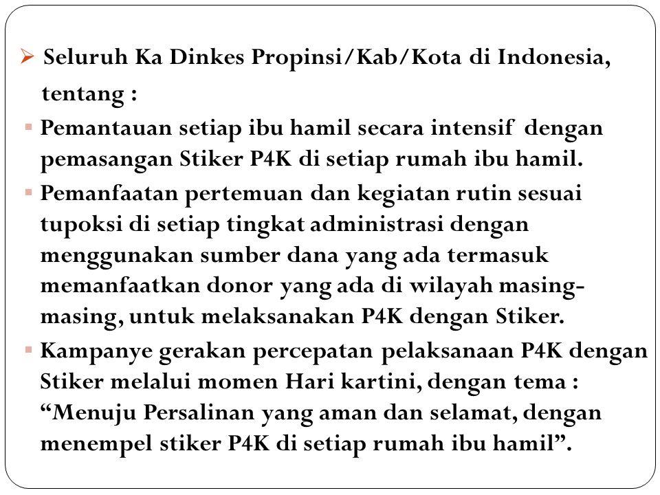 Surat Edaran Menteri Dalam Negeri RI NO : 441.7/1935.SJ