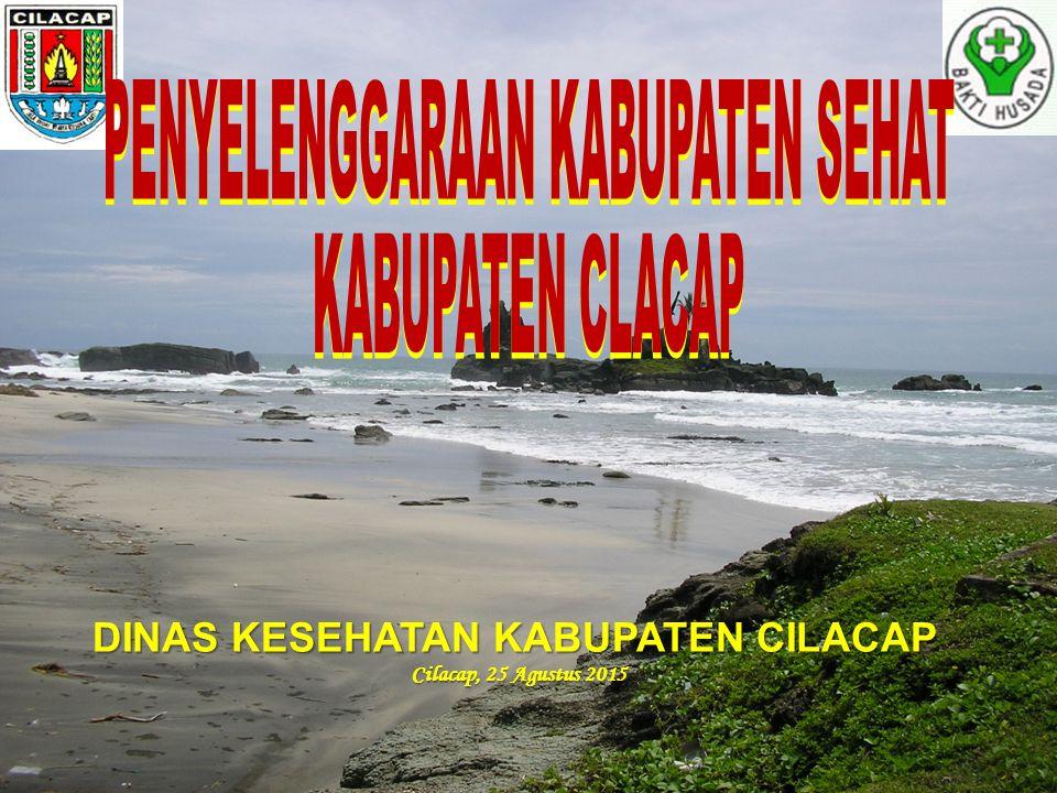 DINAS KESEHATAN KABUPATEN CILACAP Cilacap, 25 Agustus 2015 Cilacap, 25 Agustus 2015