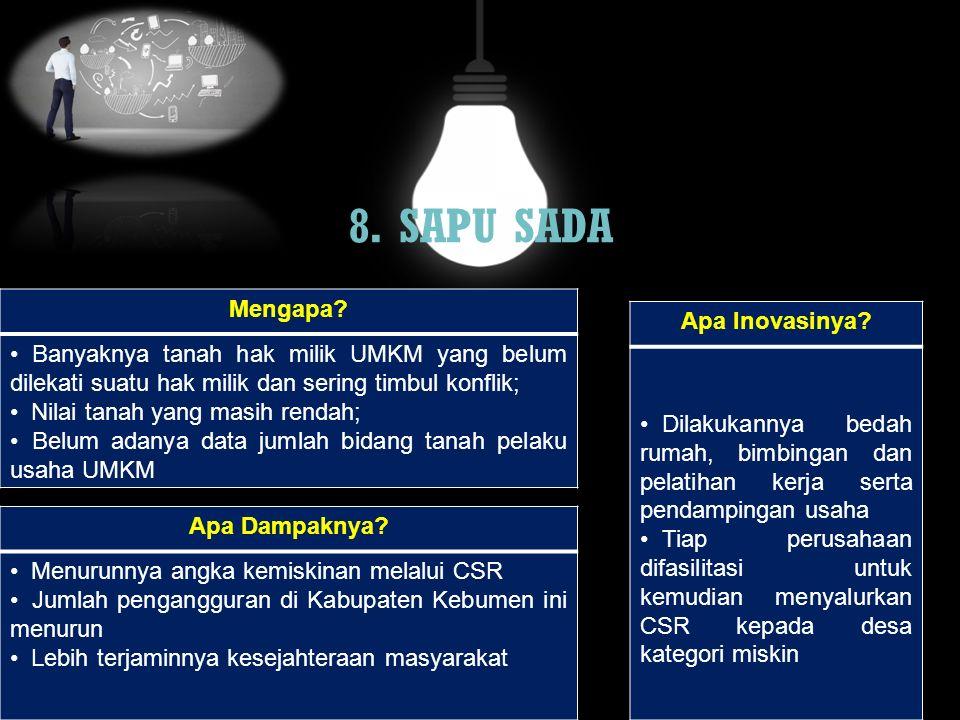 160. Sehat Bersama Sedyo Gawe Rahayu (ESS BUAH SEGAR) Mengapa? Apa Dampaknya? Apa Inovasinya?