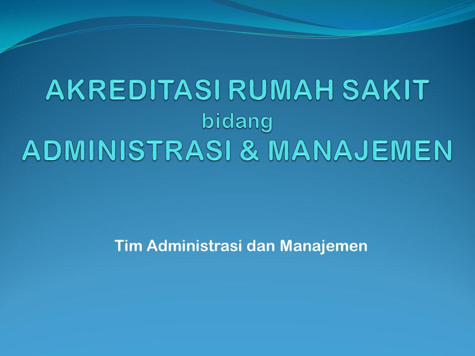 Tim Administrasi dan Manajemen