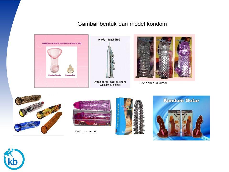20 Gambar bentuk dan model kondom Kondom duri kristal Kondom badak