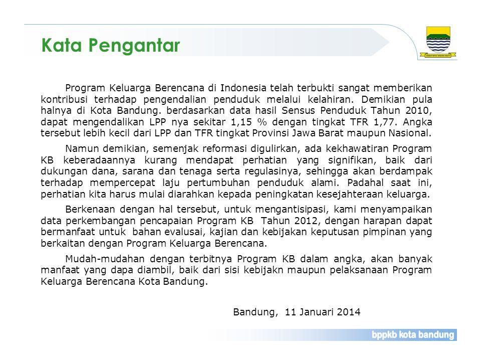 Program Keluarga Berencana di Indonesia telah terbukti sangat memberikan kontribusi terhadap pengendalian penduduk melalui kelahiran. Demikian pula ha