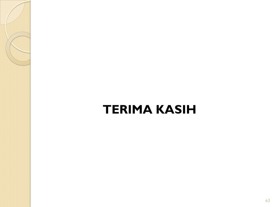 TERIMA KASIH 63