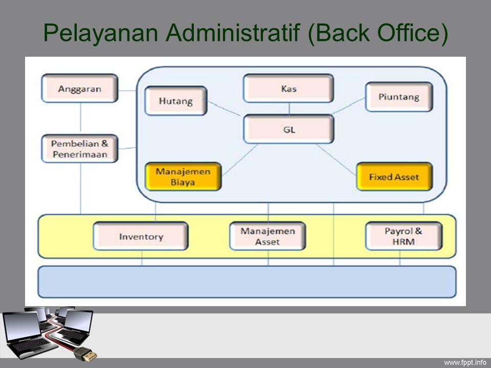 Pelayanan Administratif (Back Office)