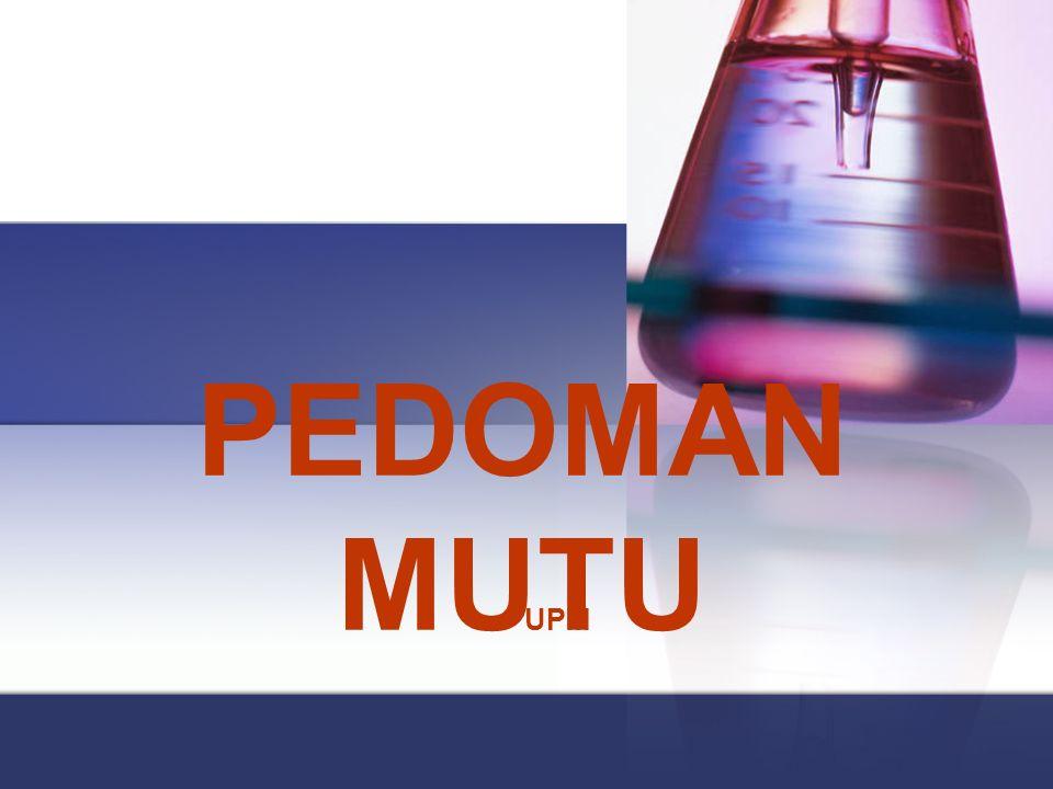 DEFINISI MUTU  Tetapkan definisi mutu yang akan digunakan  Sesuaikan dengan Prinsip Perusahaan  Sifatnya aplikatif  Contoh: Prinsip Perusahaan  Memberikan pelayanan kepada pasien dengan kualitas tertinggi melalui berbagai sumber daya yang tersedia di RS.