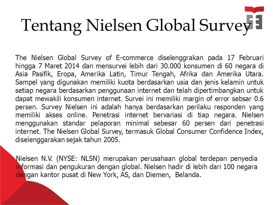 Tentang Nielsen Global Survey Nielsen N.V.