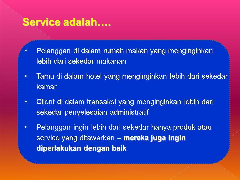 Service adalah….