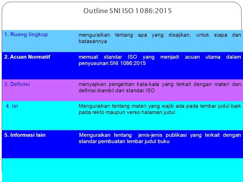 Acuan Normatif 1.ISO 832:1975.