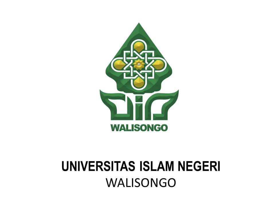 UNIVERSITAS ISLAM NEGERI WALISONGO