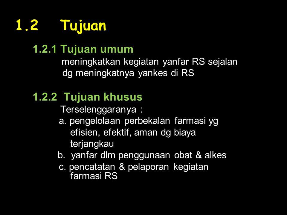 BAB II.ORGANISASI FARMASI RUMAH SAKIT 2.1.