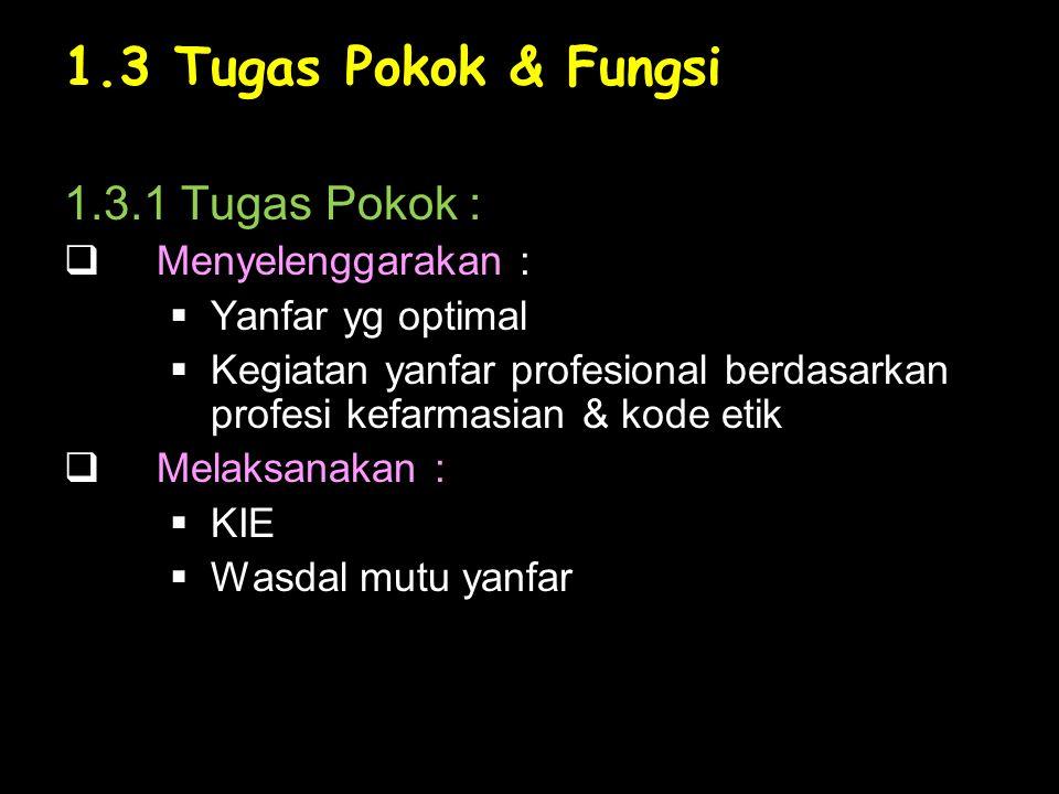 2.2 Sumber Daya Manusia Persyaratan : a.Terdaftar di Depkes sbg tenaga profesi b.Terdaftar di Asosiasi Profesi (ISFI)/Ikatan Apoteker Indonesia (IAI) c.Mempunyai Izin Kerja d.Mempunyai SK penempatan dari instansi setempat