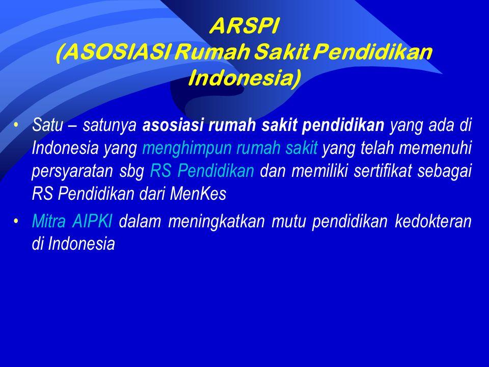 Pengurus ARSPI (2009 – 2011) Ketua : Dr.dr.Slamet R Yuwono.,DTM&H., MARS Ketua I : dr.