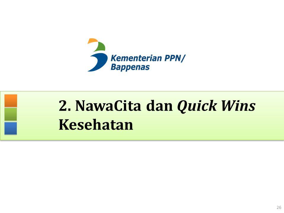 2. NawaCita dan Quick Wins Kesehatan 26