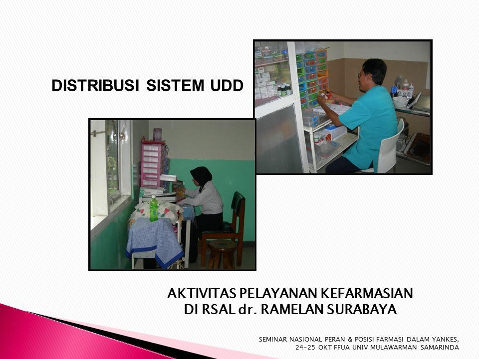 DISTRIBUSI SISTEM UDD AKTIVITAS PELAYANAN KEFARMASIAN DI RSAL dr.