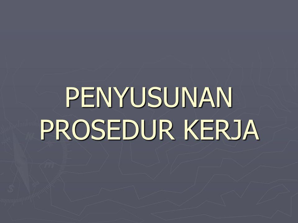 14.Referensi, diisi dengan sumber informasi yang baku sehubungan dengan PK yang dibuat 15.