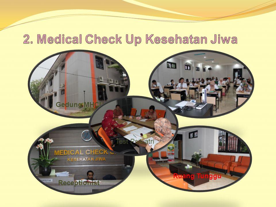 Pelayanan RS. Jiwa Dr. Soeharto Heerdjan A. Pelayanan Unggulan 1.Kesehatan Jiwa Anak dan Remaja