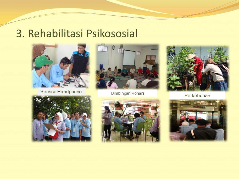 3. Rehabilitasi Psikososial Service Handphone Bimbingan Rohani Perkebunan