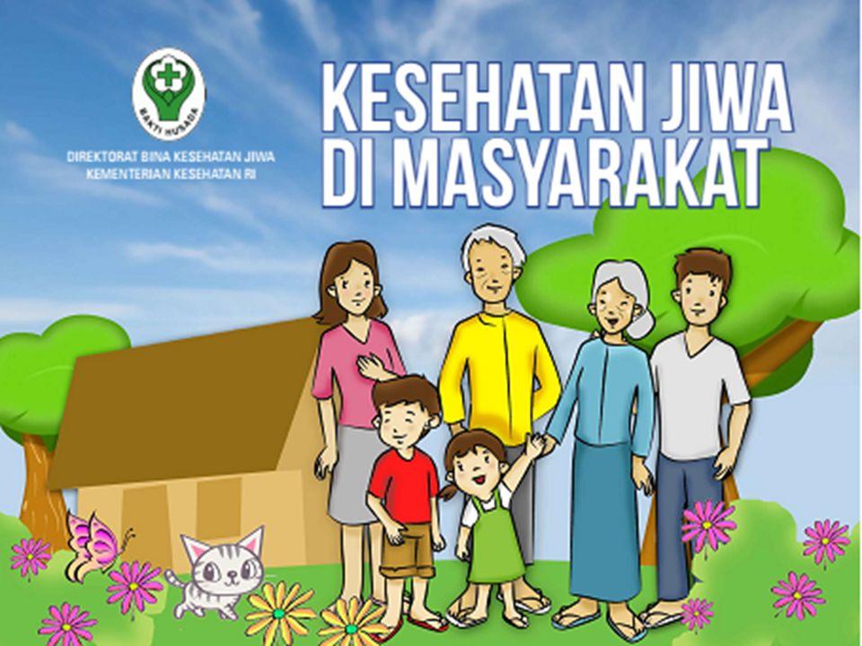 PETA STRATEGI KESEHATAN JIWA MASYARAKAT 2015 – 2019