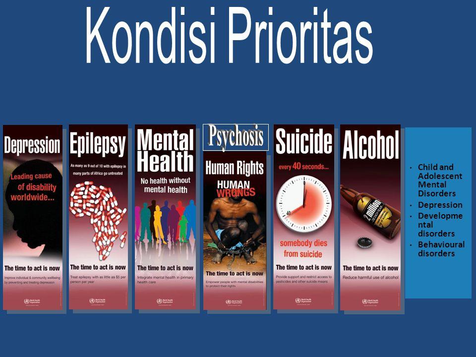 Apa yang akan terjadi jika tidak ditangani? Kematian/bunuh diri Disabilitas Menderita Pelanggaran hak asasi, stigma dan diskriminasi