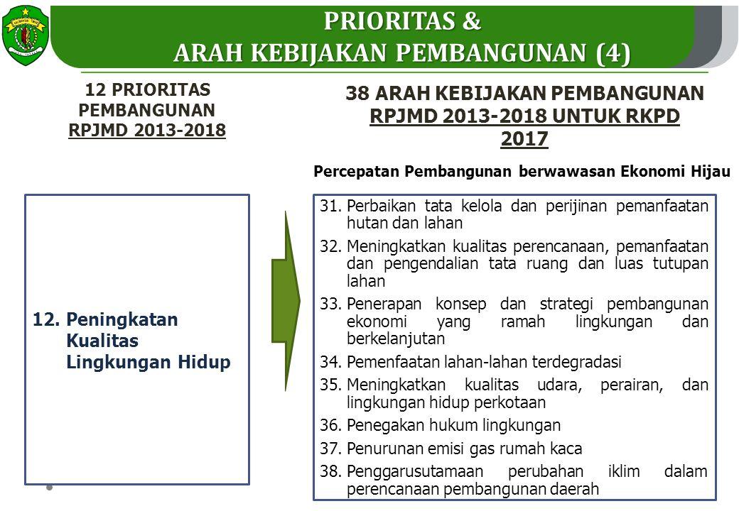 12.Peningkatan Kualitas Lingkungan Hidup 31.