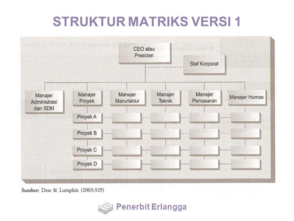 STRUKTUR MATRIKS VERSI 1 Penerbit Erlangga