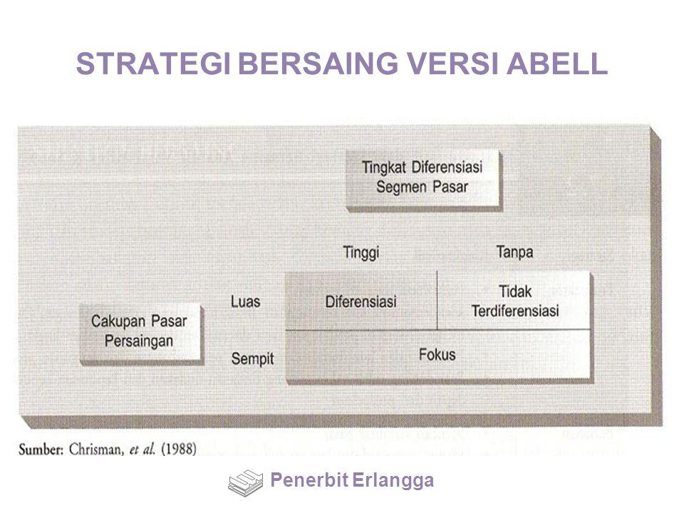 STRATEGI BERSAING VERSI ABELL Penerbit Erlangga