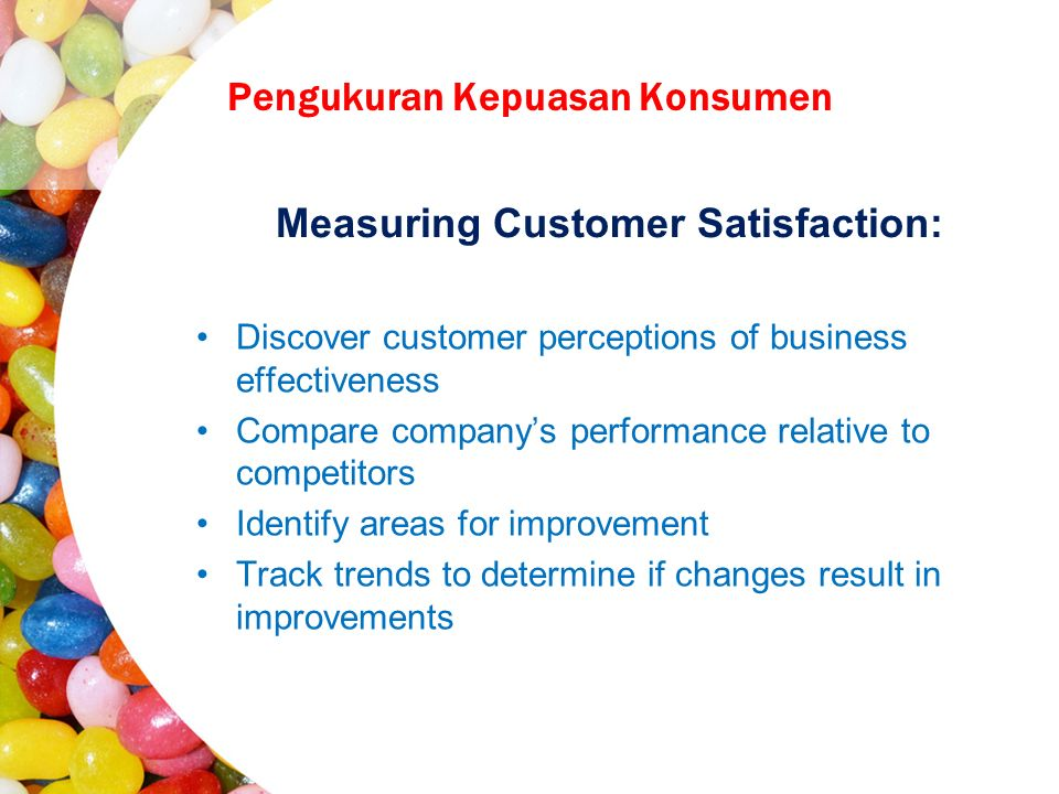 Market-based performance measure for firms, industries, economic sectors, and national economies; assessment of overall customer satisfaction as well