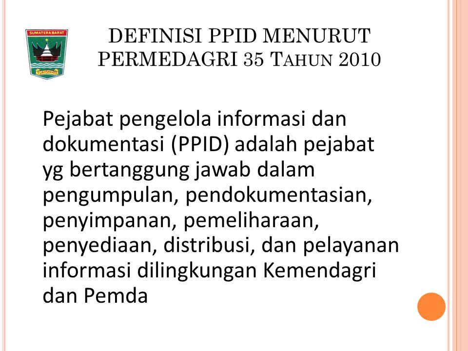 P ENTINGNYA BADAN PUBLIK MENYELENGGARAKAN KETERBUKAAN INFORMASI PUBLIK 1.
