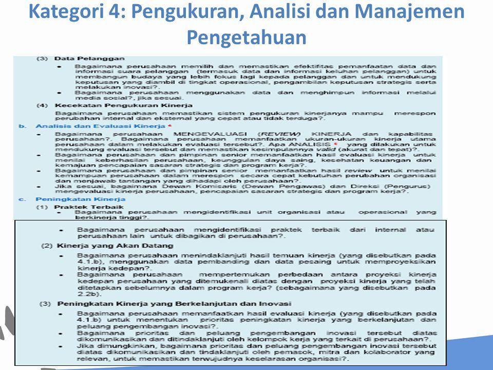 4.2 Manajemen Pengetahuan, Pengelolaan Informasi dan Teknologi Informasi