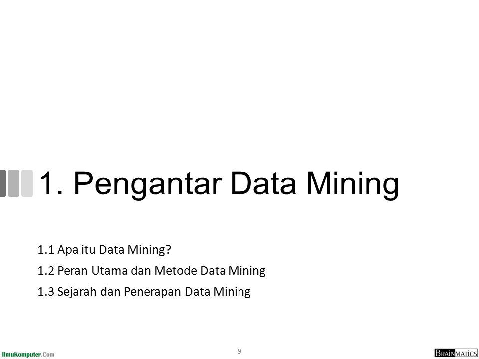 1.1 Apa itu Data Mining.