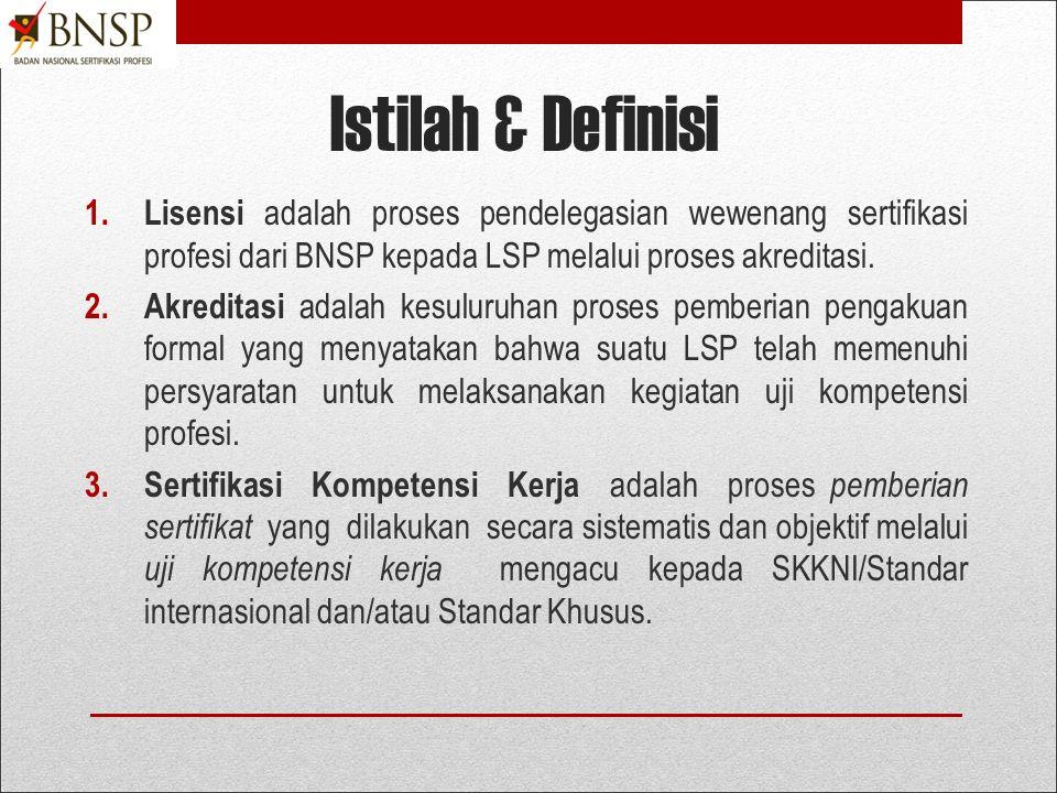  BNSP adalah lembaga independen bertanggung jawab kepada Presiden.  Dibentuk berdasarkan PP No. 23 Tahun 2004 atas perintah UU No.13/2003 Tentang Ke