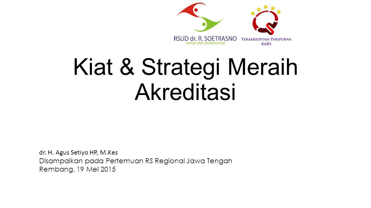 Kiat & Strategi Meraih Akreditasi dr.H.