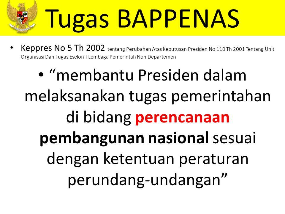 better performance Inspektorat Utama BAPPENAS Tugas BPKP Pasal 52, 53 & 54 Keppres No.
