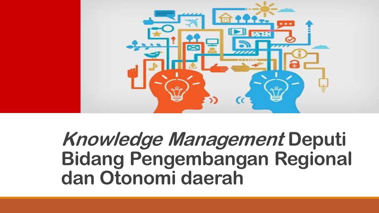 Knowledge Management Deputi Bidang Pengembangan Regional dan Otonomi daerah
