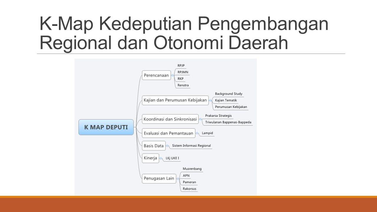 K-Map Kedeputian Pengembangan Regional dan Otonomi Daerah