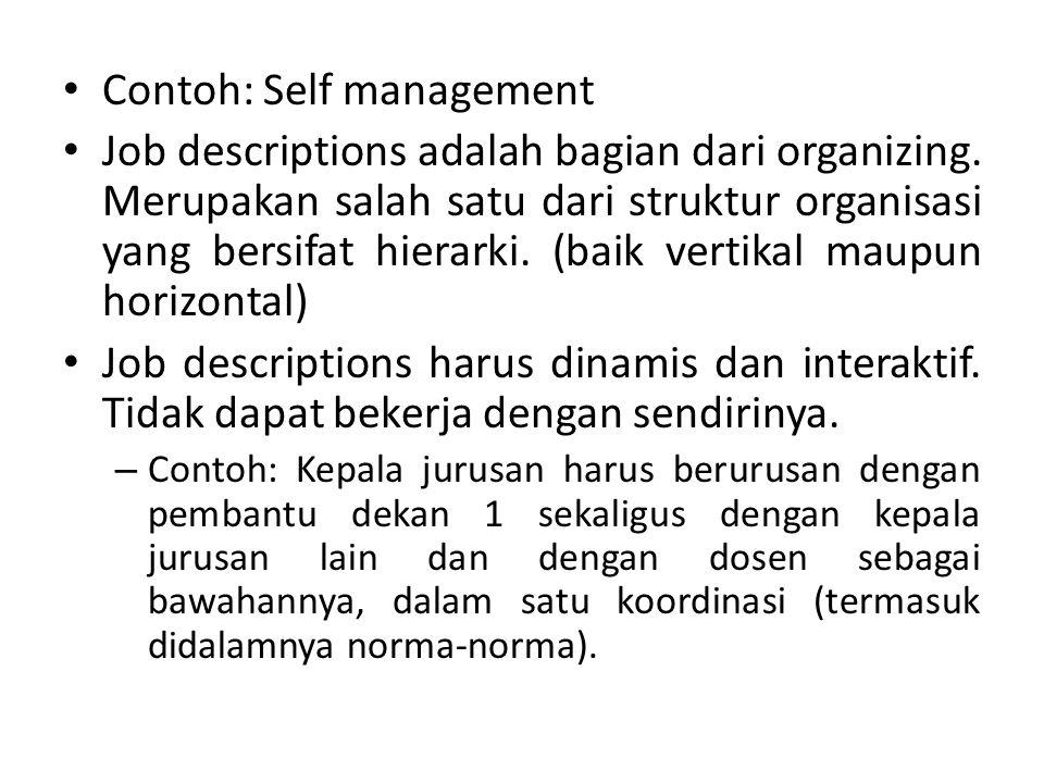 Job adalah kumpulan tugas-tugas (tasks) yang menyatu.