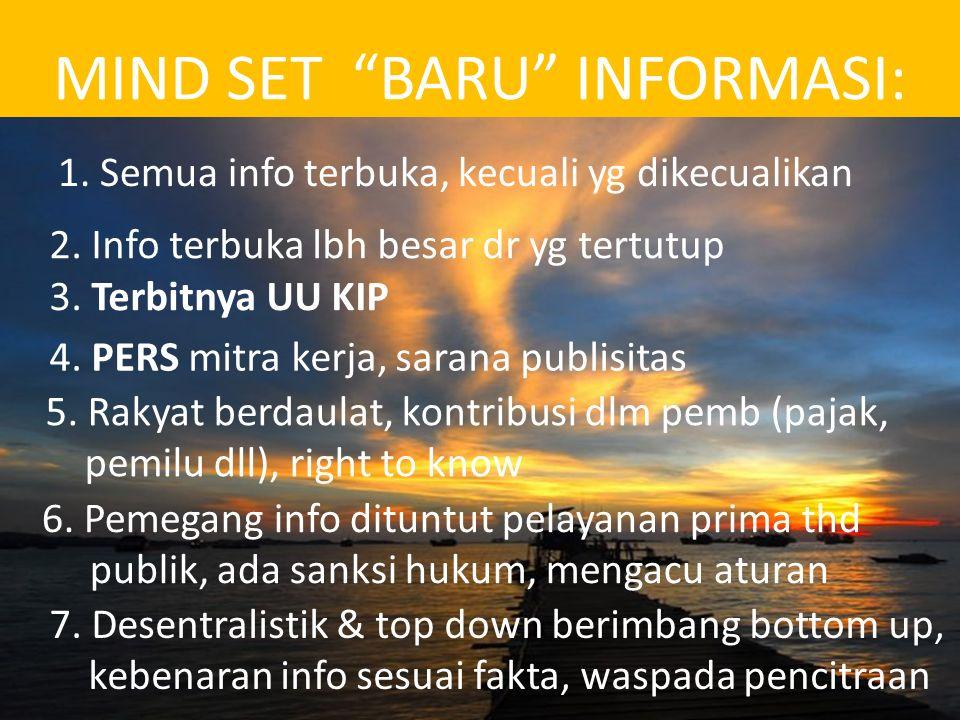 7.Pendanaan PERMENDAGRI NOMOR 35 TAHUN 2010 Pasal 15 (2)Segala biaya yang diperlukan untuk pengelolaan pelayanan informasi dan dokumentasi di lingkungan Pemerintahan Provinsi dibebankan pada Anggaran Pendapatan dan Belanja Daerah Provinsi.