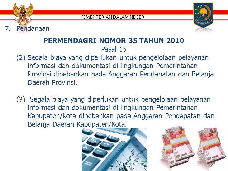 6.Laporan pelayanan informasi.