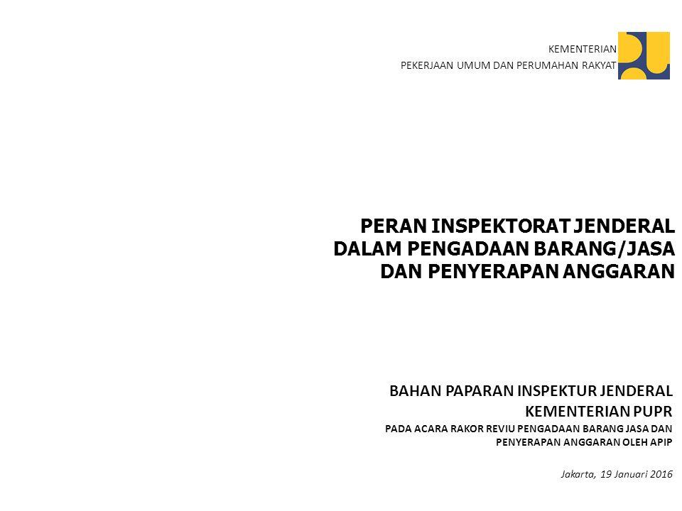 INSTRUKSI PELELANGAN DINI INSTRUKSI MENTERI PUPR NOMOR 3/IN/M/2015 2 Menyiapkan Usulan Paket-paket tahun jamak/Multi Years Contract (MYC) untuk segera diusulkan kepada Menteri Keuangan untuk Tahun 2016 Melakukan evaluasi perbedaan sasaran output antara Rencana Kerja Pemerintah (RKP) dan RKA-K/L TA 2016 Melakukan pelelangan dini paket-paket strategis nasional sesuai dengan pagu anggaran (RKA-K/L) TA 2016 pada bulan Agustus 2015