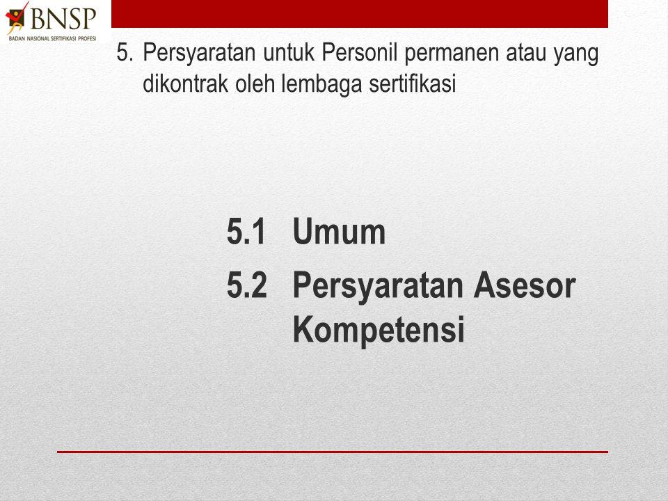 4.Kebijakan Umum 4.1 Kebijakan umum Lembaga sertifikasi 4.2 Struktur organisasi 4.3 Pengembangan dan pemeliharaan skema sertifikasi 4.4 Sistem manajem