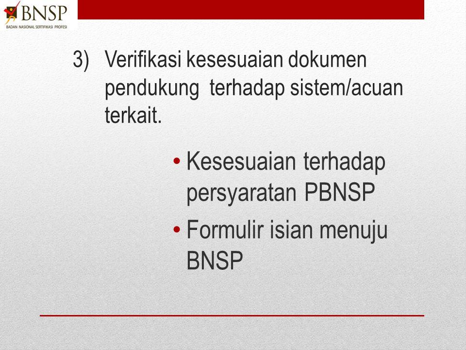 NONO KODE (bila diperlukan) JUDUL Penetapan Panitia Persiapan Pembentukan LSP Surat Dukungan Asosiasi Industri/ tertera dalam akte notaris. Surat Duku