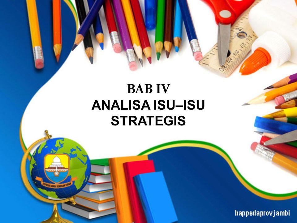 BAB IV ANALISA ISU–ISU STRATEGIS