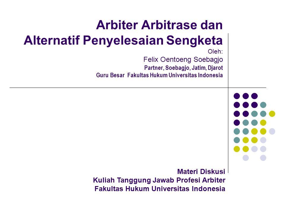 1.Hakim dan Arbiter a.Hakim 1).Pejabat Negara di bidang peradilan (umum) a).