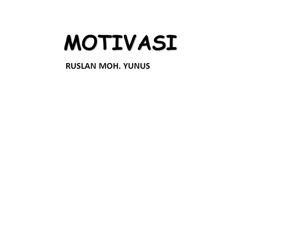 MOTIVASI RUSLAN MOH. YUNUS