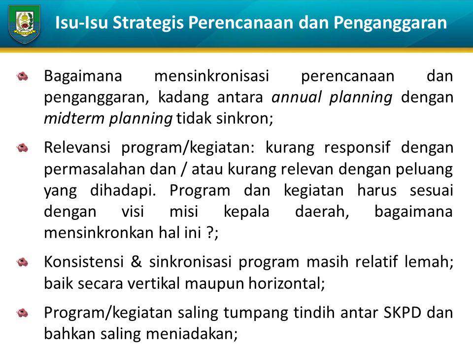 PROGRAM bentuk instrumen kebijakan … yg berisi satu atau lebih kegiatan … yg dilaksanakan oleh SKPD atau masyarakat, … yg dikoordinasikan oleh pemerintah daerah … untuk mencapai sasaran dan tujuan pembangunan daerah.