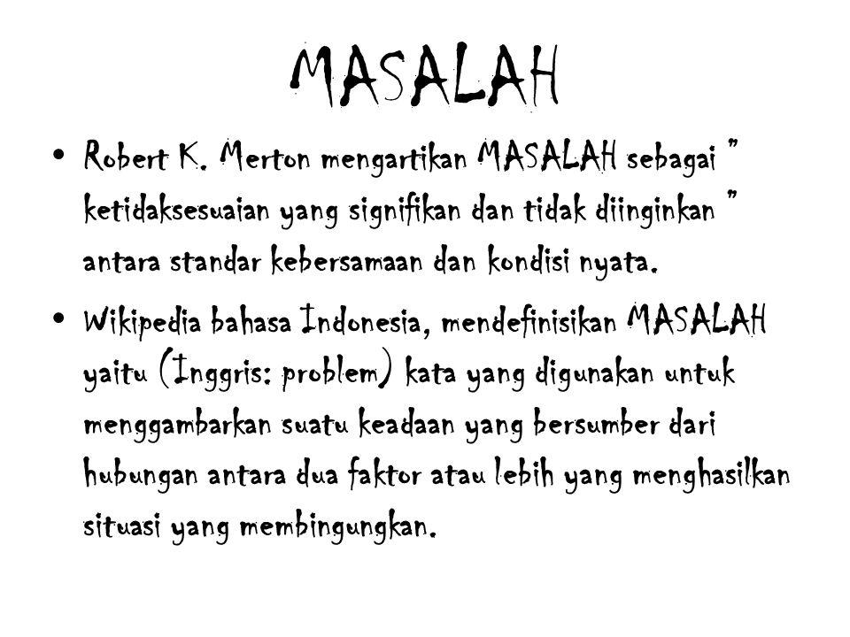 MASALAH Robert K.