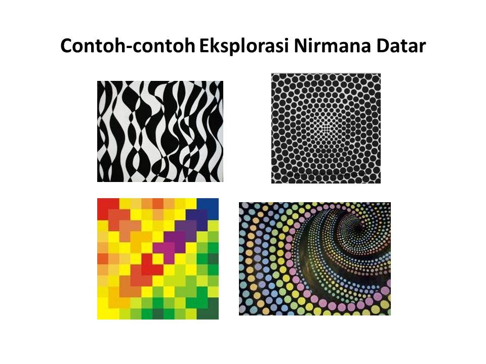 Contoh-contoh Eksplorasi Nirmana Datar