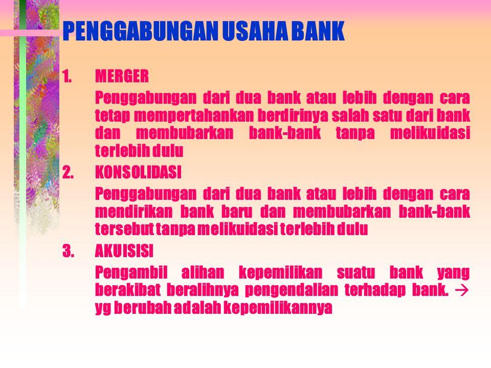 lanjutan 5. ASPEK RENTABILITAS Kemampuan bank dalam meningkatkan laba  penilaian dilakukan dengan : a.Rasio laba terhadap Total Aset ( ROA ) b.Perban