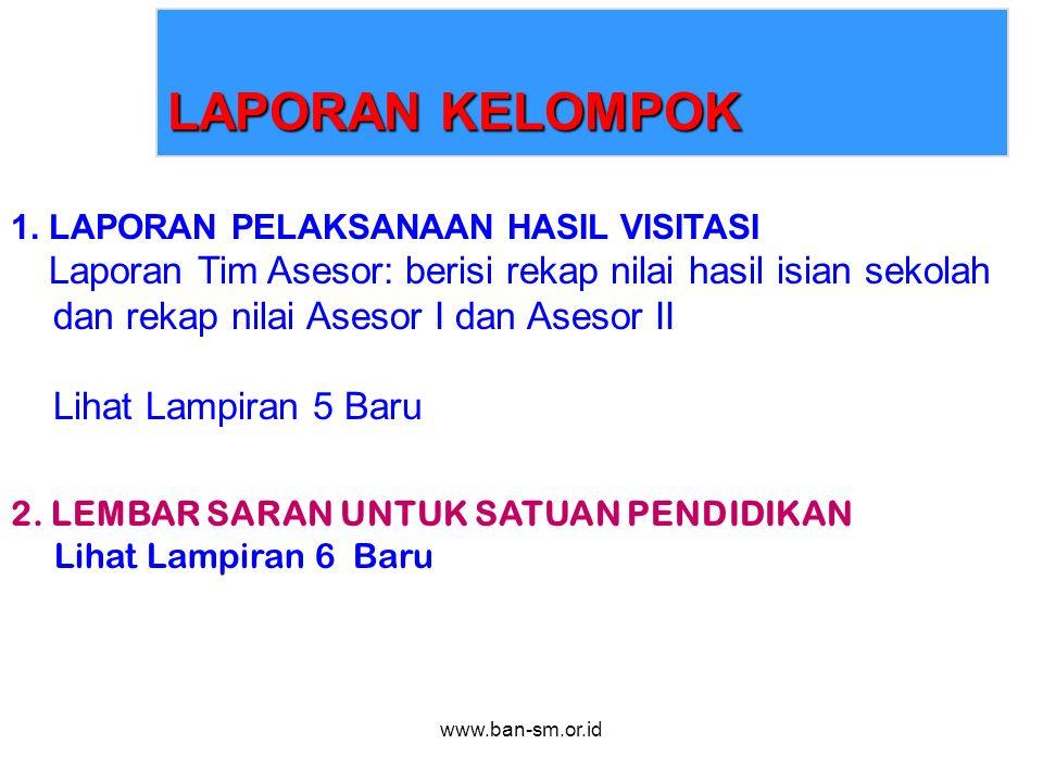 www.ban-sm.or.id LAPORAN KELOMPOK 1.