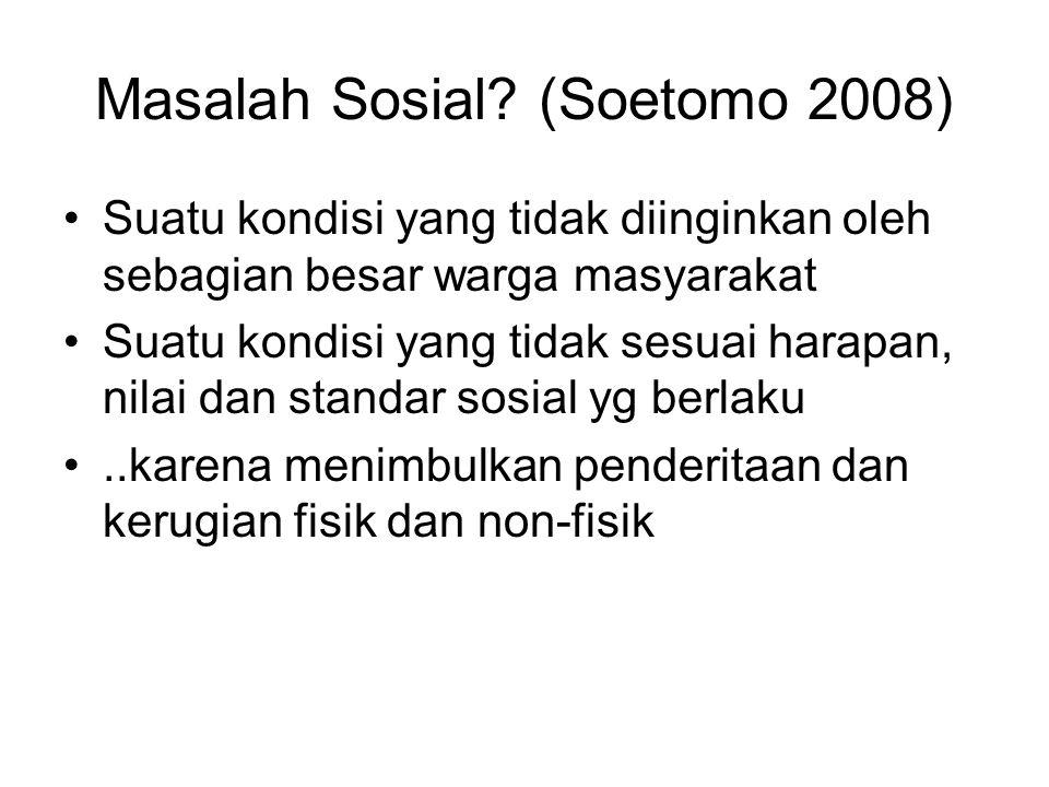 Masalah Sosial.
